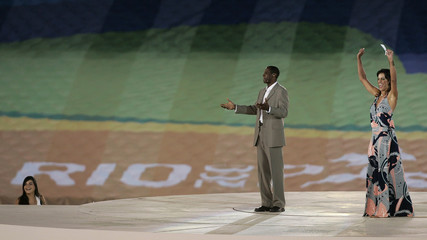 Brazilian hosts start the festivities at the opening ceremonies of the Pan American Games in Maracana Stadium in Rio de Janeiro