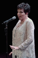 U.S. singer and actress Liza Minnelli performs in Santander