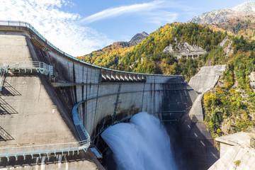 Japanese Kurobe Dam