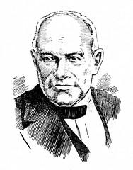 Adolf Anderssen (1818-1879), German chess master