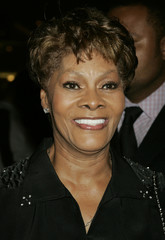 Singer Dionne Warwick at the David Gest gala in Beverly Hills