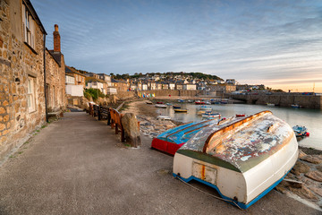 Wall Mural - Mousehole Harbour in Cornwall