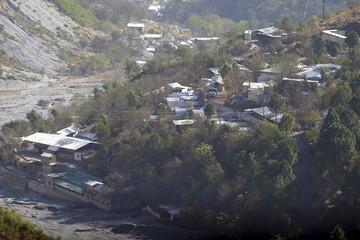 A general view of madrassa or Islamic school on the outskirts of Muzaffarabad