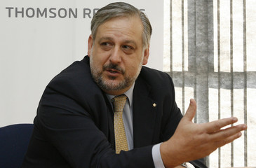 Brazil's Workers Party   President  Berzoini speaks at the  Reuters Latin American Investment summit in Brasilia