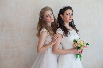 bride and wedding flowers wedding bouquet girlfriend