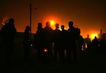 Israeli soldiers prepare to enter Gaza