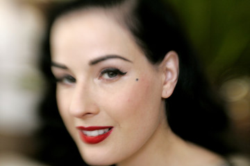 Actress and burlesque artiste Dita Von Teese at 59th Cannes Film Festival