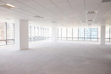 Empty Interior Of Modern Corporate Office