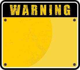warning, sign
