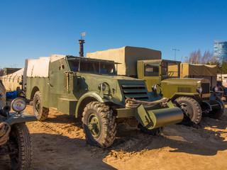 A truck of the Second World War