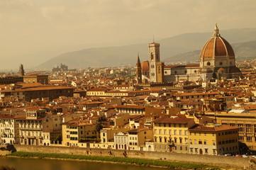 Annsichten von Florenz / Italien