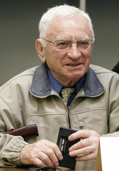 Blatt  joint plaintiff in the trial against Accused Nazi death camp guard John Demjanjuk sits in a courtroom in Munich