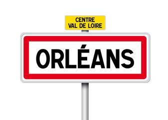 PANNEAU VILLE ORLÉANS