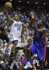 Magic's Nelson shoots in the third quarter in Game 4 of their NBA Eastern Conference basketball series in Orlando