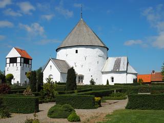 Die Rundkirche von Nylars auf Bornholm