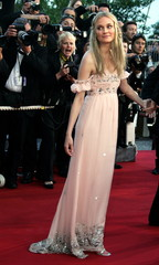 """German actress Diane Kruger poses during arrivals for French director  [Christian Carion]'s film """"Jo.."""