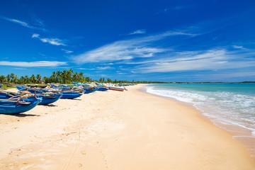 Fototapeta  beach and tropical sea