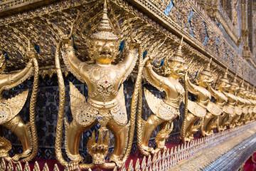 Demon guardians at the Grand Palace, Bangkok