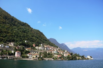 Lenno at Lake Como, Lombardy Italy