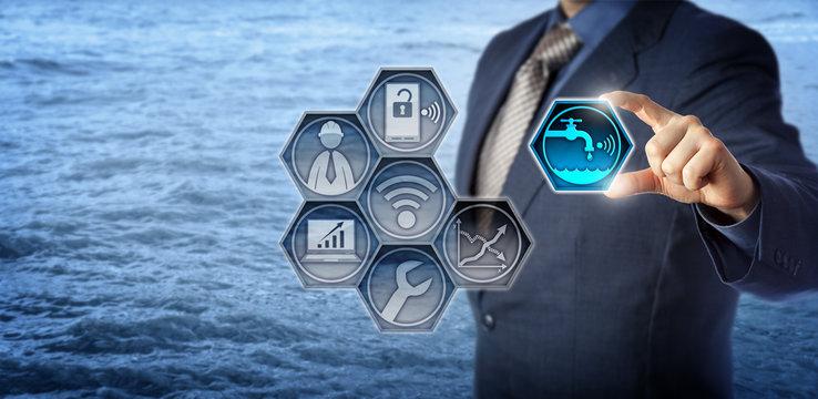 Civil Engineer Activates Smart Water Management