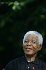 File photo of Nelson Mandela who celebrated his 87th birthday.