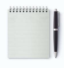 Coil bound notebook
