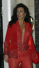 NANCY DELL'OLIO THE GIRLFRIEND OF ENGLAND MANAGER SVEN GORAN ERIKSSONLEAVES NUMBER 10 DOWNING STREET.