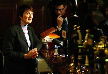 BRITAIN'S CULTURE SECRETARY JOWELL LAUNCHES LICENSING BILL AT A LONDONPUB.