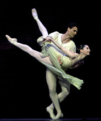 ROYAL BALLET'S DRESS REHEARSAL OF ROMEO AND JULIET IN LONDON.
