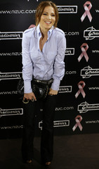 Spanish actress Elsa Pataky poses during a photocall to bring awareness to breast cancer in central Madrid