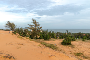 Sand dunes, Mui Ne South Vietnam Dec 2016