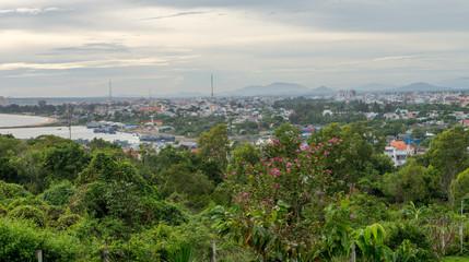 Mui Ne beach and town views, Vietnam Dec 2016.