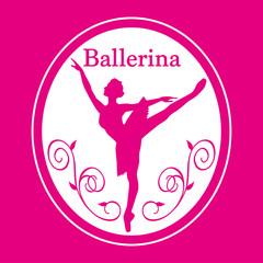 バレリーナのシルエット