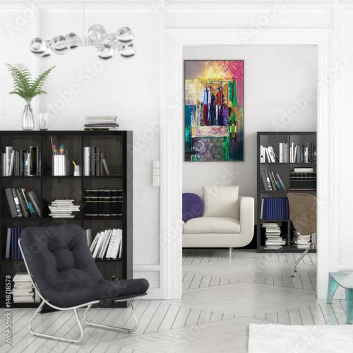 projekt einer apartment einrichtung focus stockfotos. Black Bedroom Furniture Sets. Home Design Ideas