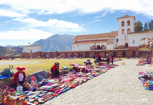 Chinchero Market Peru