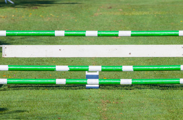 Show Jumping Equestrian Gate Poles