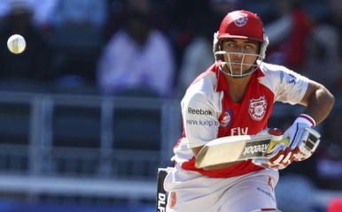 Sohal of the Kings XI Punjab plays a shot during the IPL T20 cricket match against the Deccan Chargers in Johannesburg