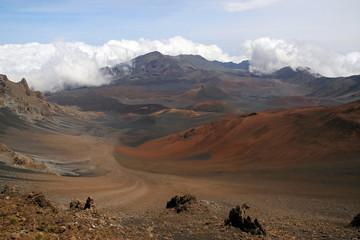 Haleakala crater, Maui Island, Hawaii, USA