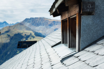 Alipne Hut's Roof