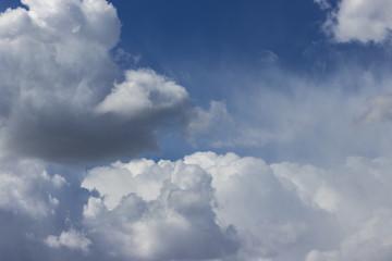 Viele Wolken am Himmel