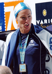 Swedish swimmer Alshammar wins 50m freestyle final in Brazilian national club championship.