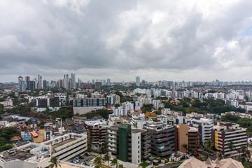ブラジルのサルバドールの都市景観