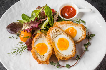 スコッチエッグ イギリス料理 Scotch egg