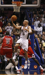 Nets Kidd shoots against Bulls in East Rutherford
