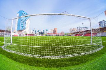 Soccer arena, stadium