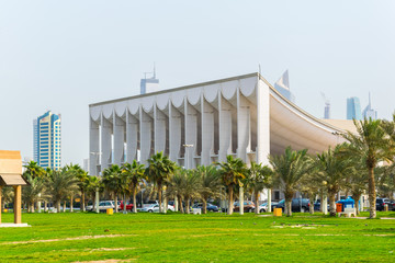 National assembly building in Kuwait.