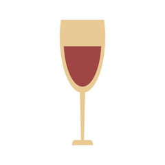 wine glass icon image vector illustration design