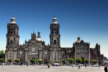 Mexico City,  Metropolitan Cathedral of the Assumption of Mary of Mexico City