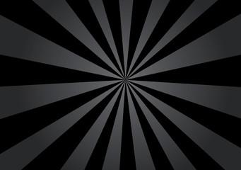 Black Gradient Starburst, Sunburst, Rays