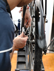 Bicycle workshop, Bike repairing